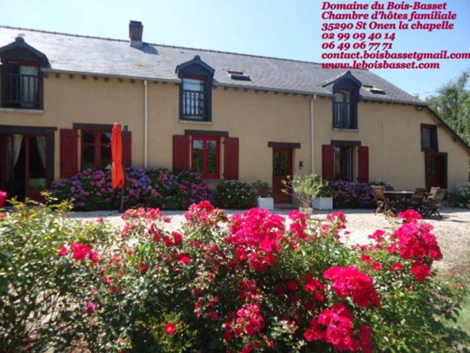 Chambre d'hôtes familiale du Domaine du Bois-Basset