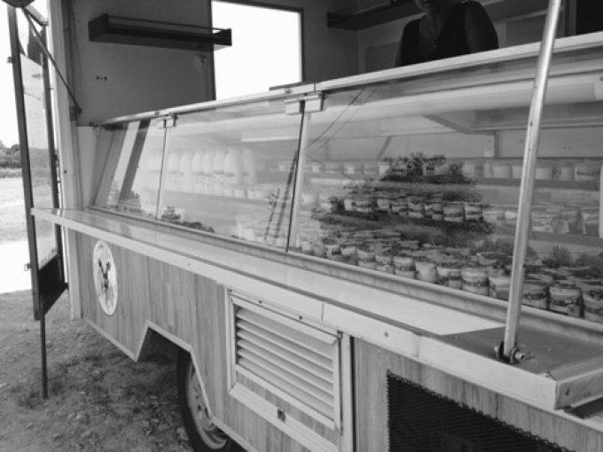 Camion de la Crèmerie de Saint-Suliac