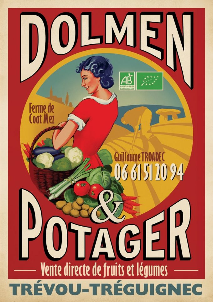 Logo de Dolmen et Potager