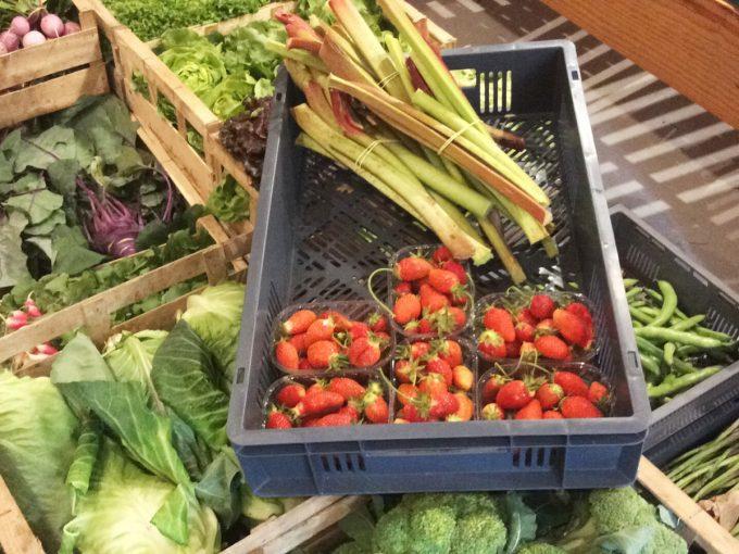 Cagette de fruits et légumes de saison