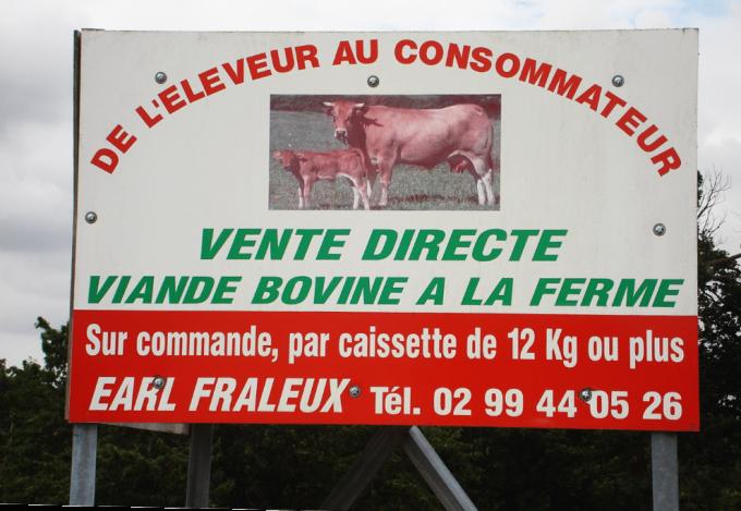 Vente directe à la ferme