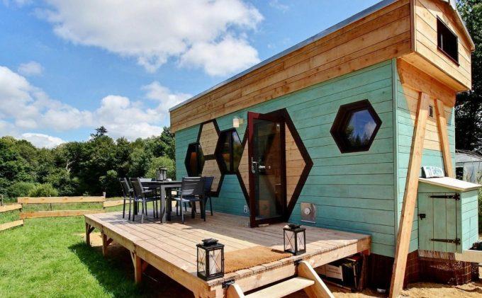 Les Miels de la Fontaine Airmeth - la ruche tiny house