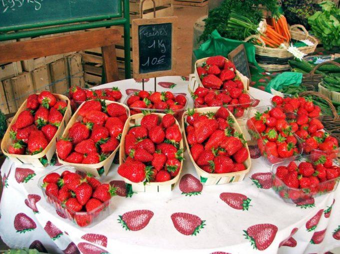 Les barquettes de fraises