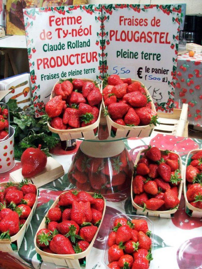 Des fraises direct de la ferme