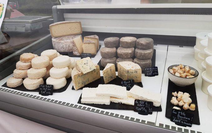 La Bêle Listoir - gamme de fromages bio de brebis