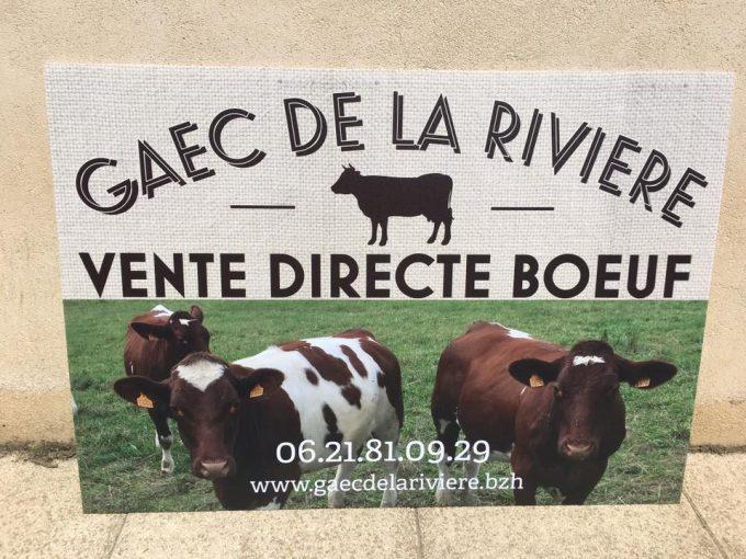 Affiche de la Ferme de la Rivière
