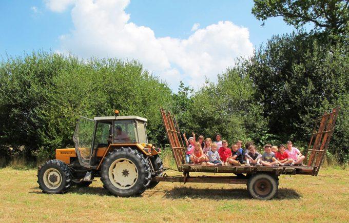 La Ferme de Trénube - promenade en tracteur