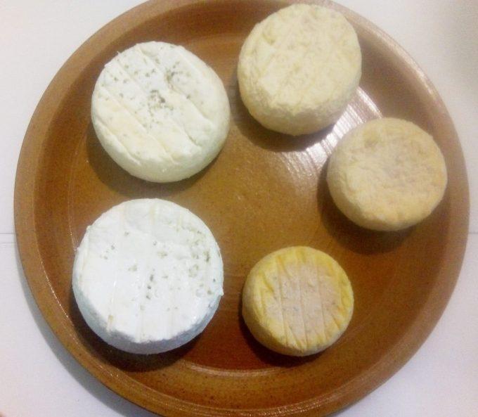 La Ferme de Trofalher - gamme de fromages de chèvre