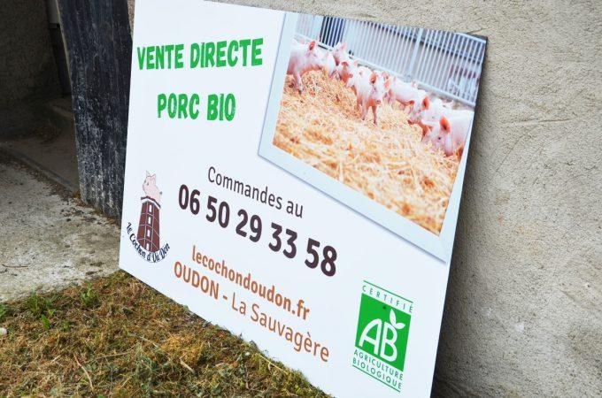 Le Cochon d'Où Don - vente directe de porc bio