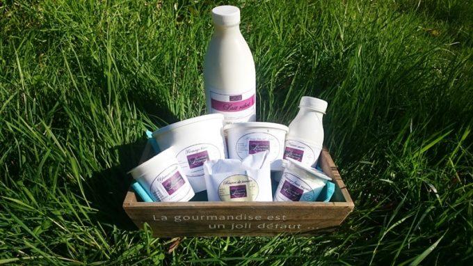 Des produits laitiers made in Cornouaille