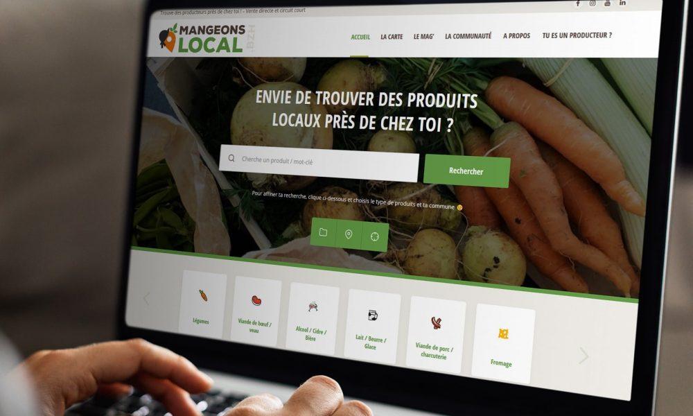 Mise à jour du site Mangeons-Local.BZH ! 😍🌱