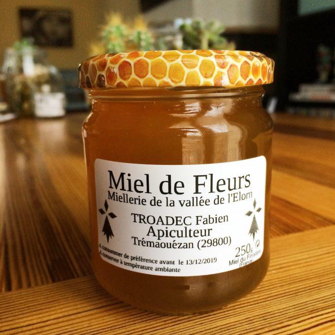 Pot de miel de la Miellerie de la Vallée de l'Élorn