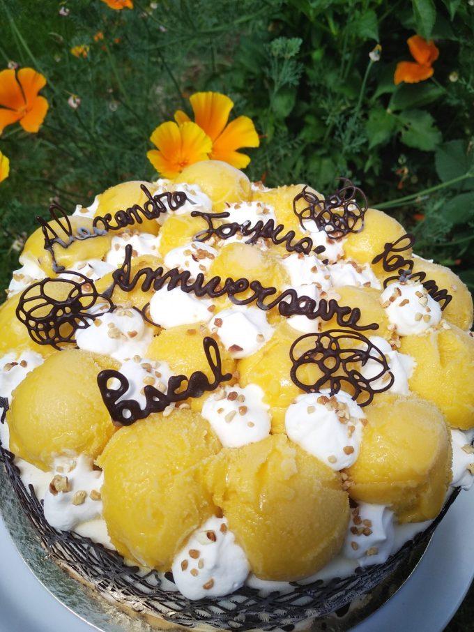 Idée de gâteau d'anniversaire maison
