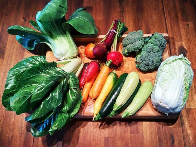 Panier de légumes du mois de septembre