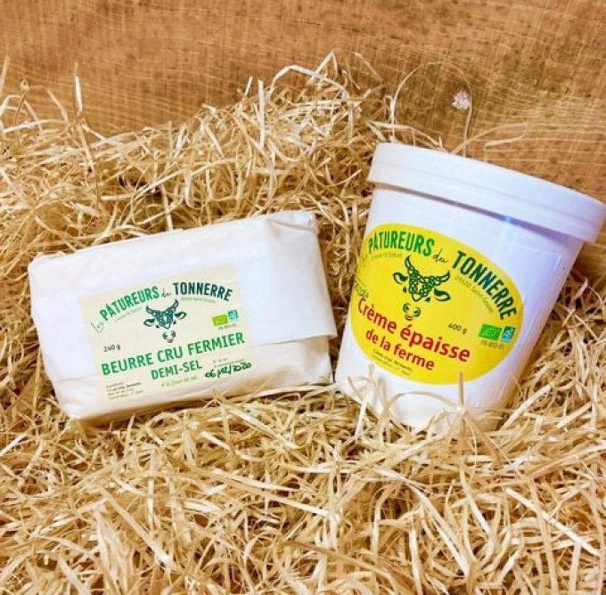 Beurre et crémerie