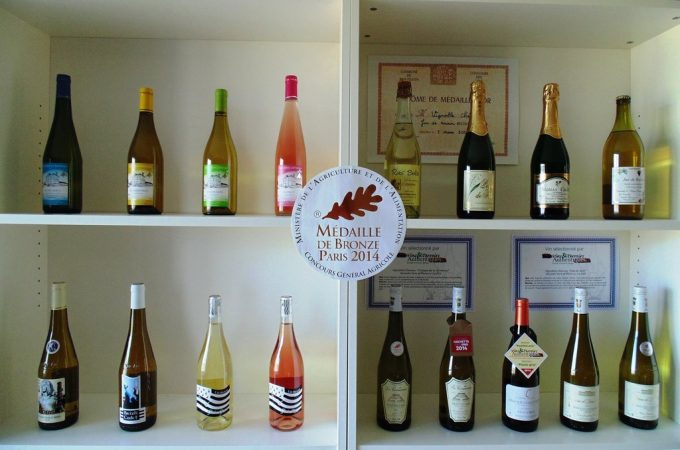 Gamme complète de vins