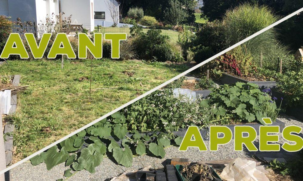 J'ai transformé ma pelouse en potager ! [GUIDE]