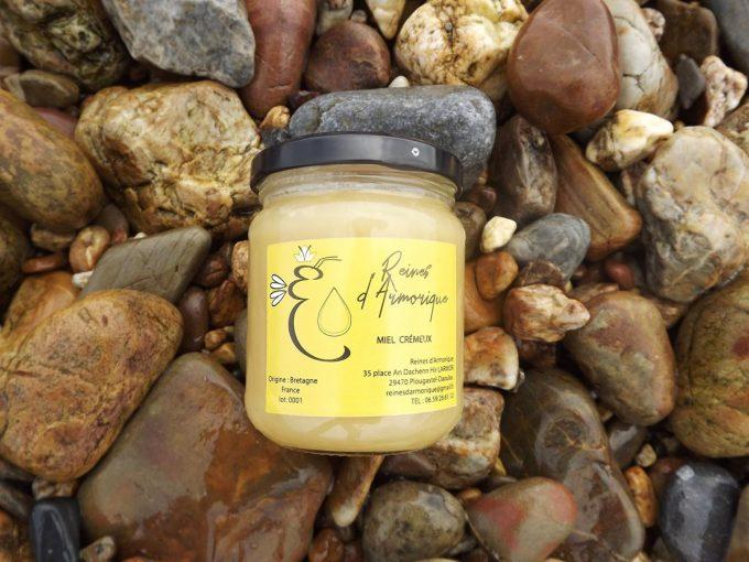 Reines d'Armorique - miel crémeux