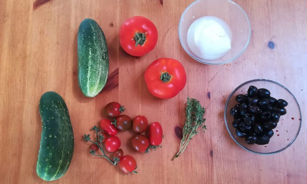 Idée recette : Salade Grecque à l'accent breton