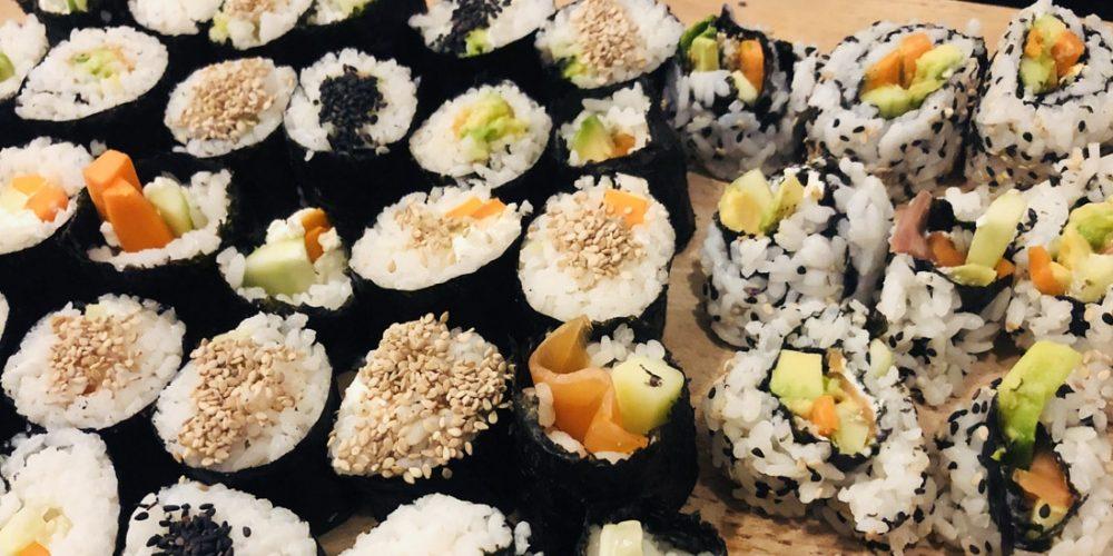 Recette de Maki et California Rolls… avec des ingrédients locaux !