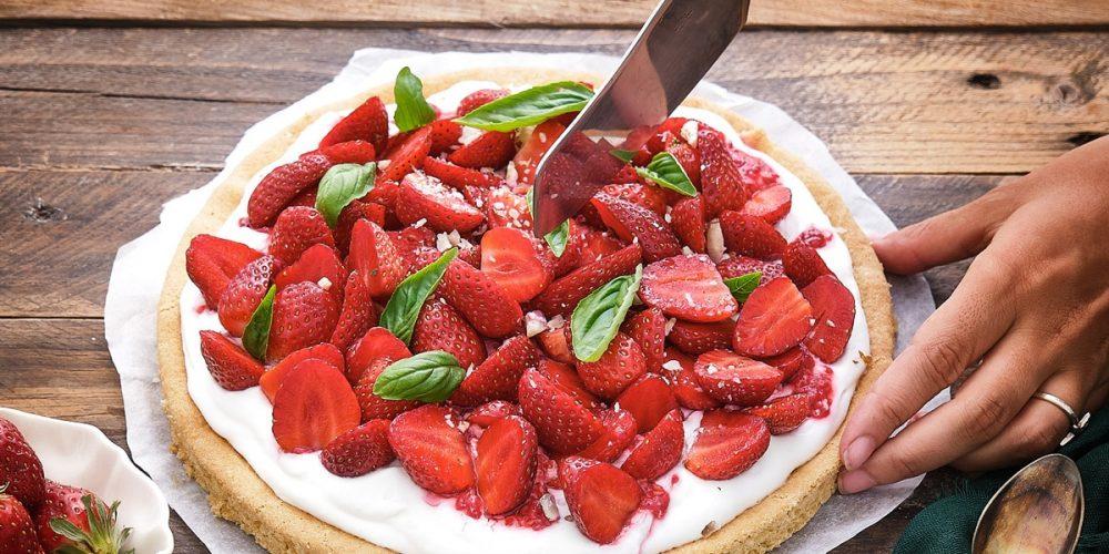 Tarte aux fraises sur sablé breton – La Recette !