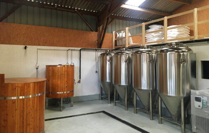 Brasserie Trisk'Ale - cuves et installations