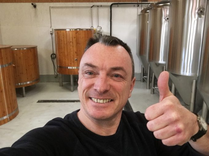 Brasserie Trisk'Ale - Jérôme le brasseur