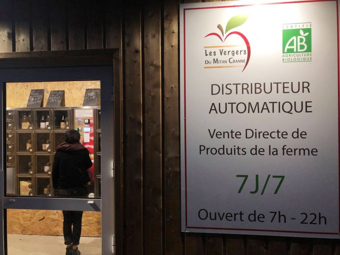 Distributeur automatique 7/7 24h