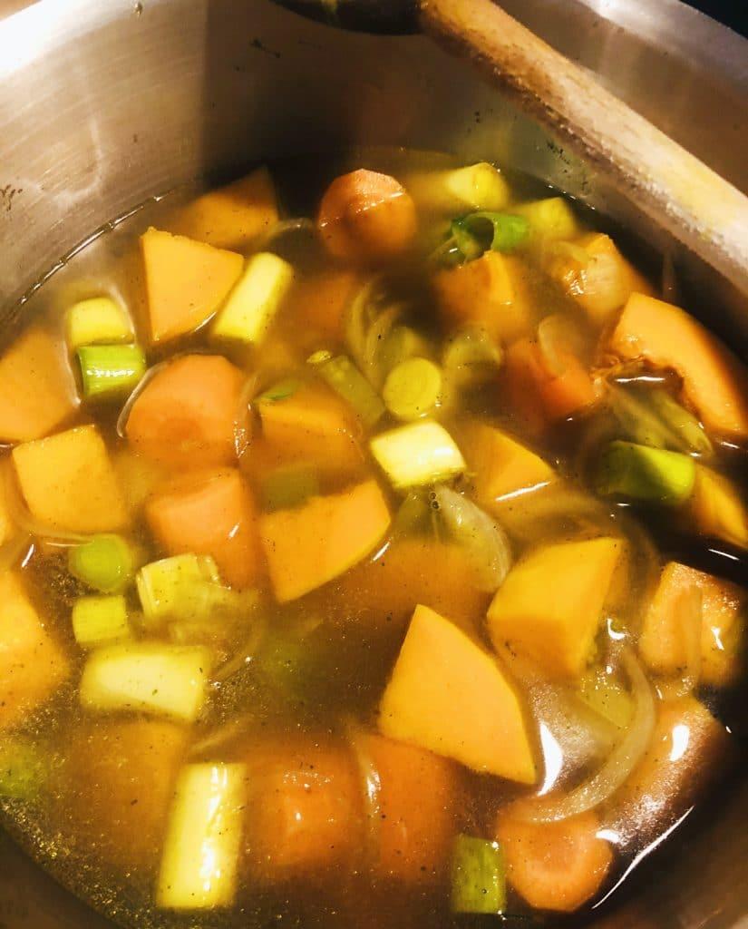 Recette de couscous aux légumes locaux d'hiver
