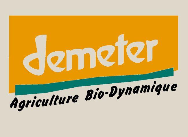 Le label Demeter : pour la promotion de l'agriculture en biodynamie.