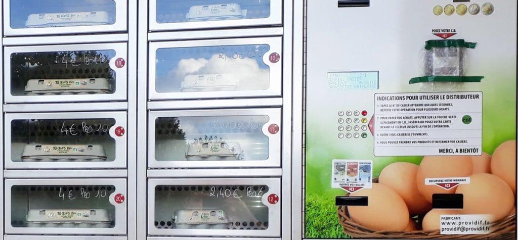 Distributeur automatique d'œufs frais : une solution pour acheter en local !