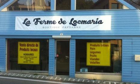 La Ferme de Locmaria : Magasin en direct des producteurs !