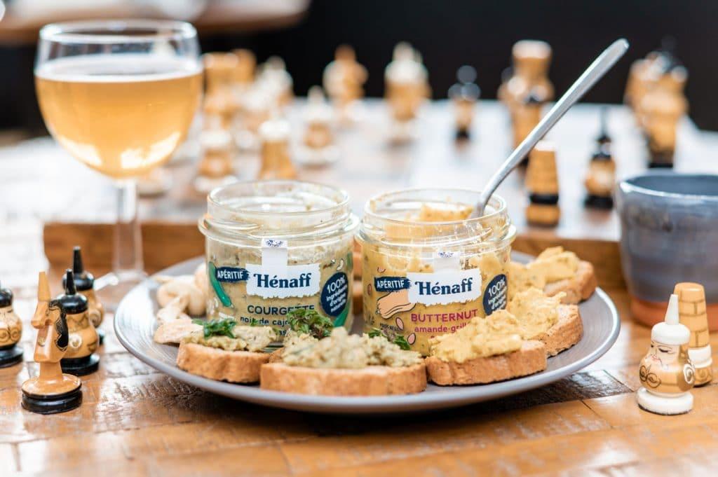 Hénaff propose maintenant des tartinades Veggies (mais pas que) !