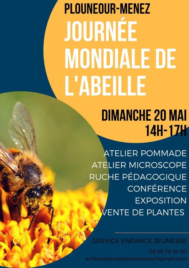 Journée Mondial de l'Abeille : Animation le 20 Mai, à Plonéour-Menez