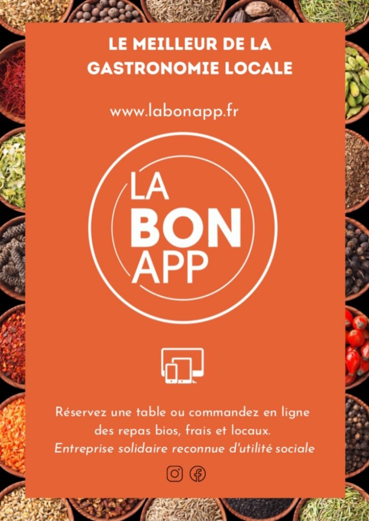 LaBonApp, la plateforme des restos bio, du local et du  home made !