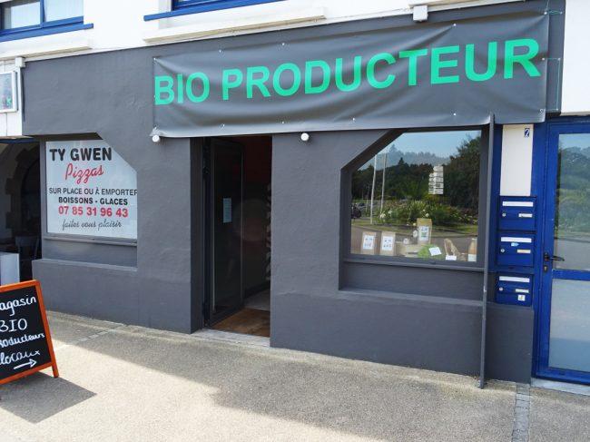 Magasin de producteurs BIO à Bénodet