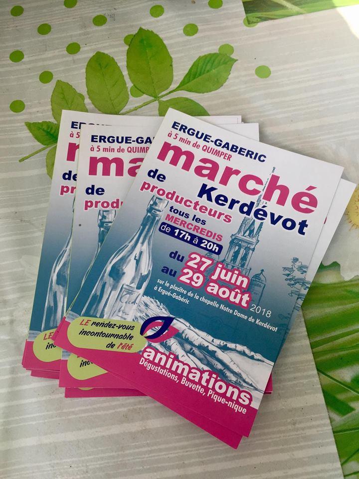 Le Marché de Kerdevot à Ergué Gabéric : On a testé !