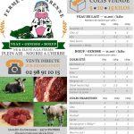 Caisse de viande de veau - Disponibilité fin Février !