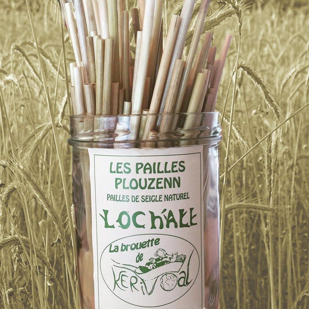 Des pailles 100% biodégradables et 100% bretonnes !