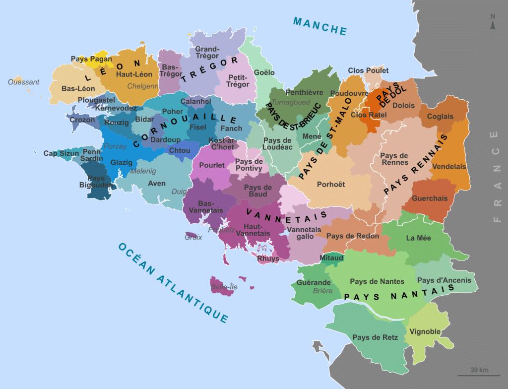 Les Neuf Pays de Bretagne : Une histoire commune, des terroirs distincts