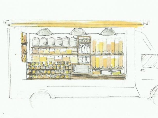 Les P'tites Graines : l'épicerie ambulante de produits secs !