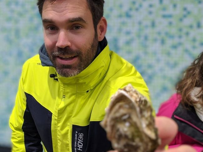 Ria Ostrea huîtres Nicolas
