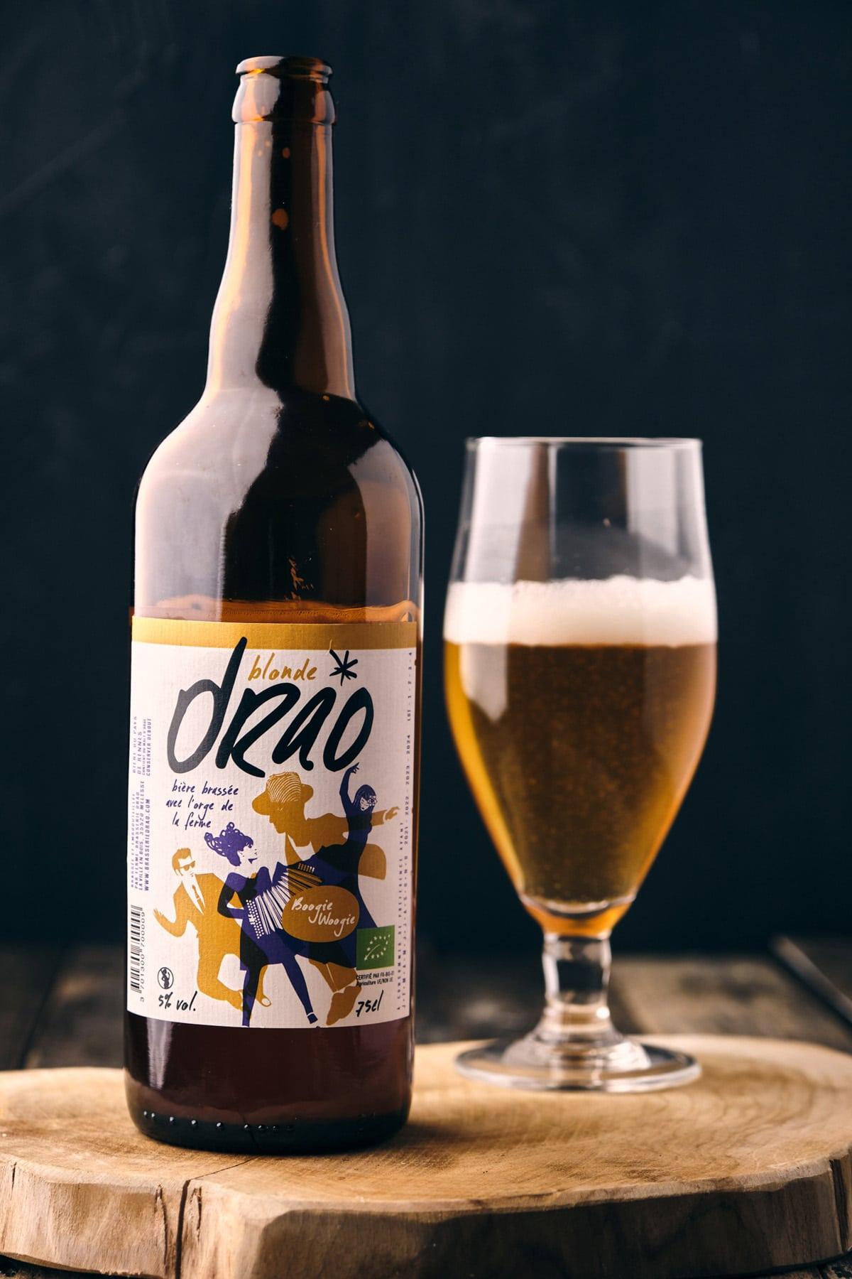 Risotto à la bière, champignons et poireaux - Recette