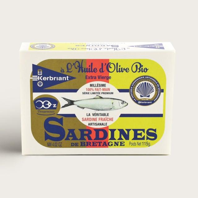 Sardine à l'huile