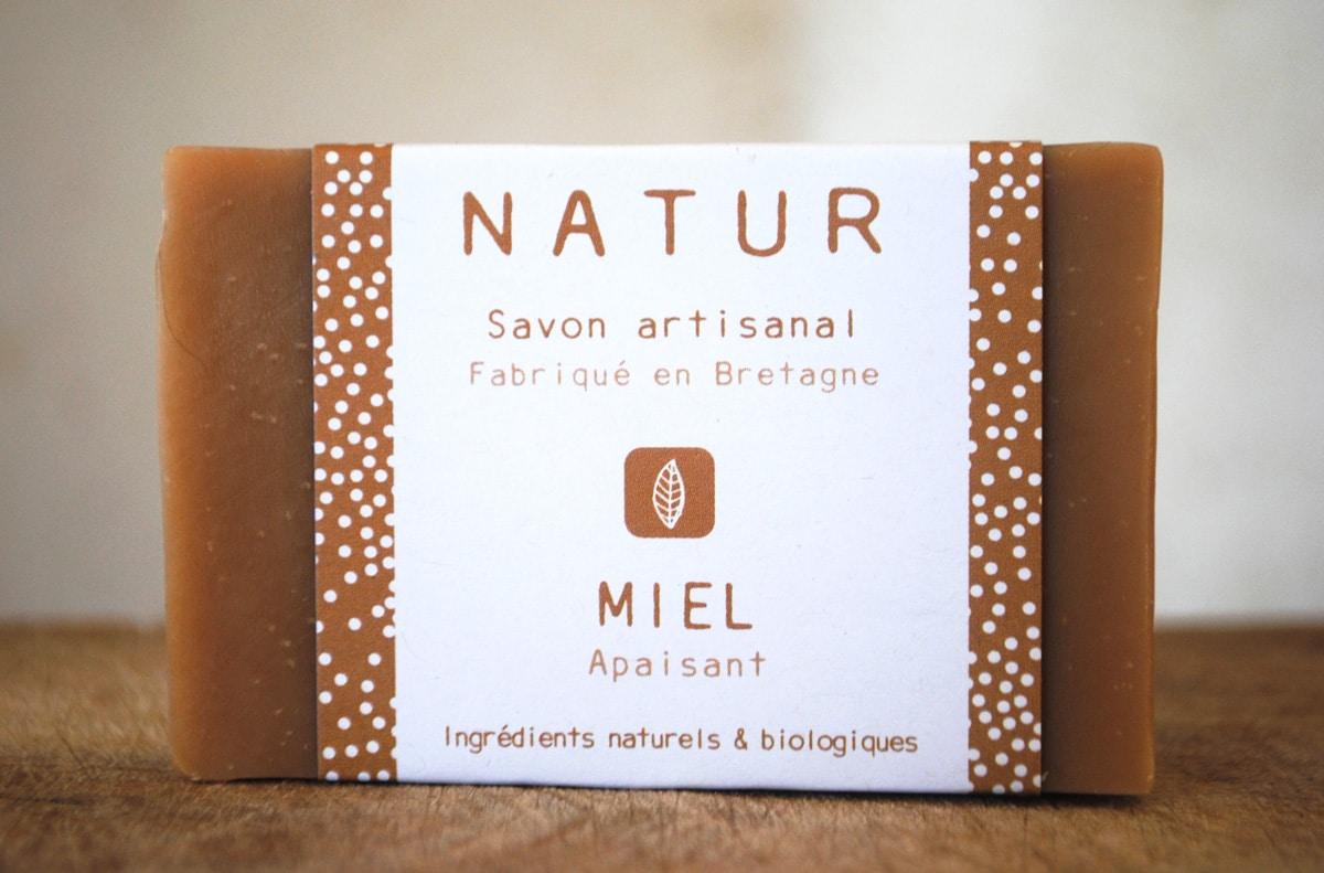 Natur : Savons artisanaux fabriqués en Bretagne